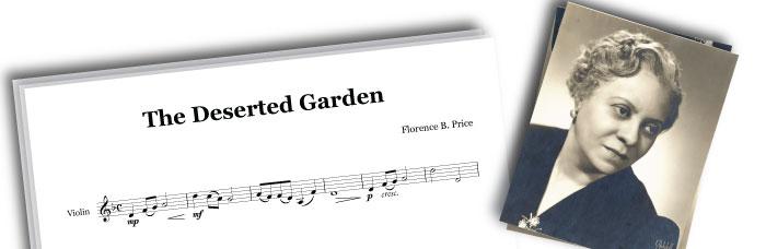 The Deserted Garden Score