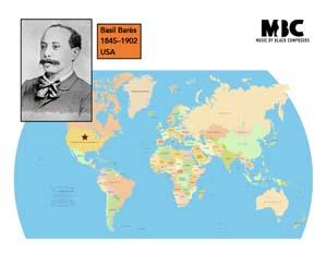 Barès, Basil Map