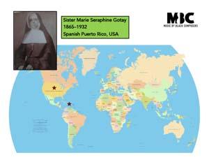 Sister Marie Seraphine Gotay Origin Map