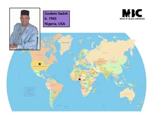 Godwin Sadoh Origin Map