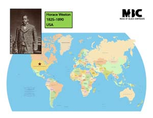 Horace Weston Origin Map