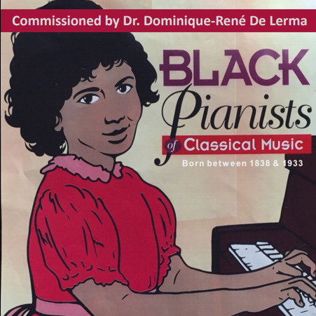 Cover of Black Pianists of Classical Music